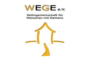 Logo WEGE e.V. Wohngemeinschaft für Menschen mit Demenz